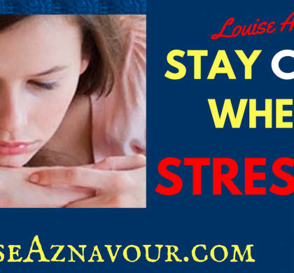 How to Stay Calm When Stressed – Relaxing and Letting Go